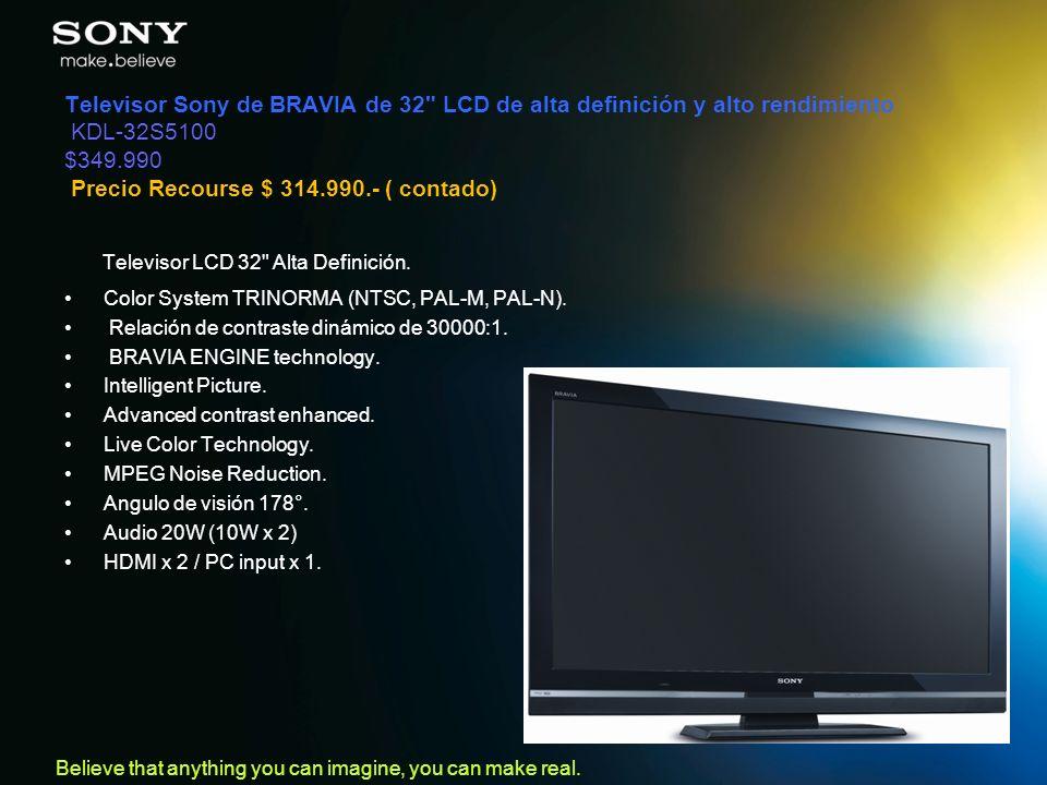 Televisor LCD 32 Alta Definición.