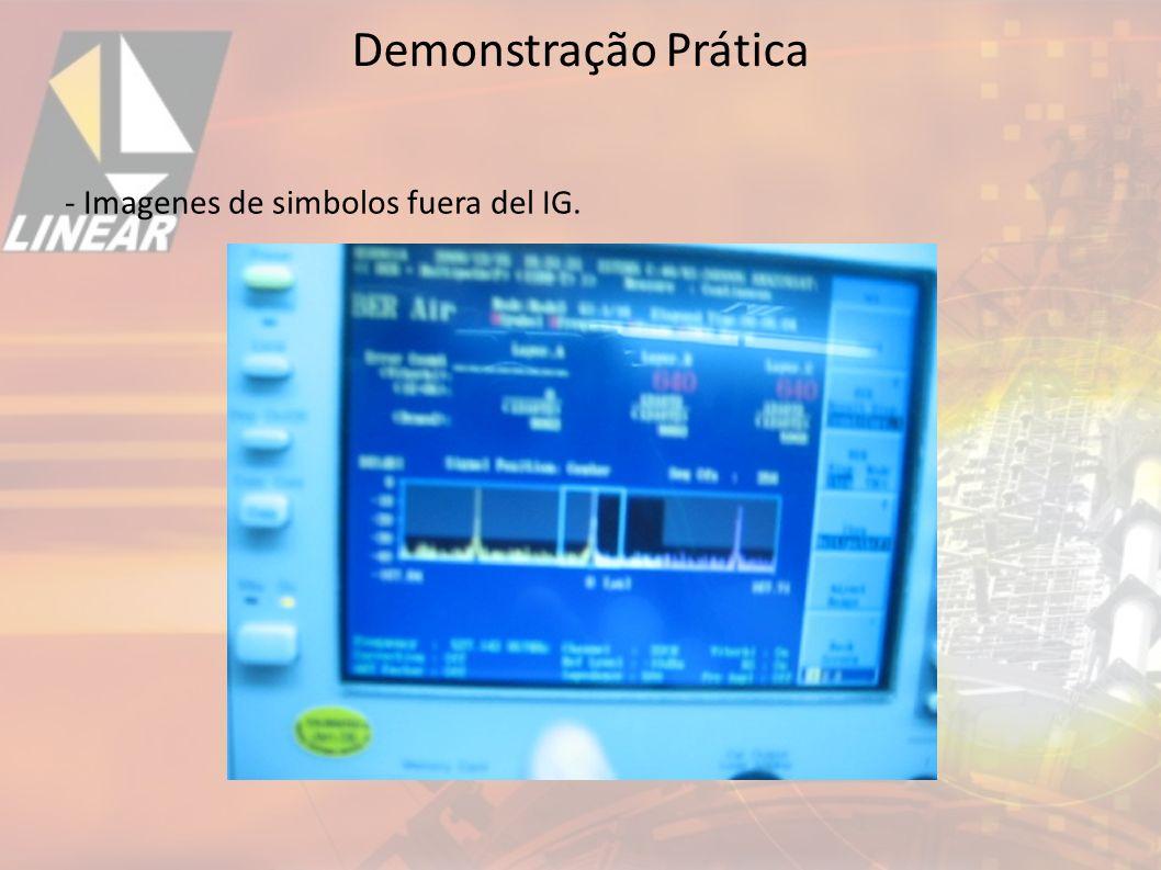 Demonstração Prática - Imagenes de simbolos fuera del IG. 32