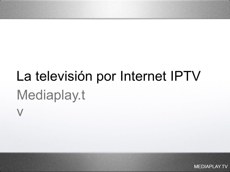 La televisión por Internet IPTV