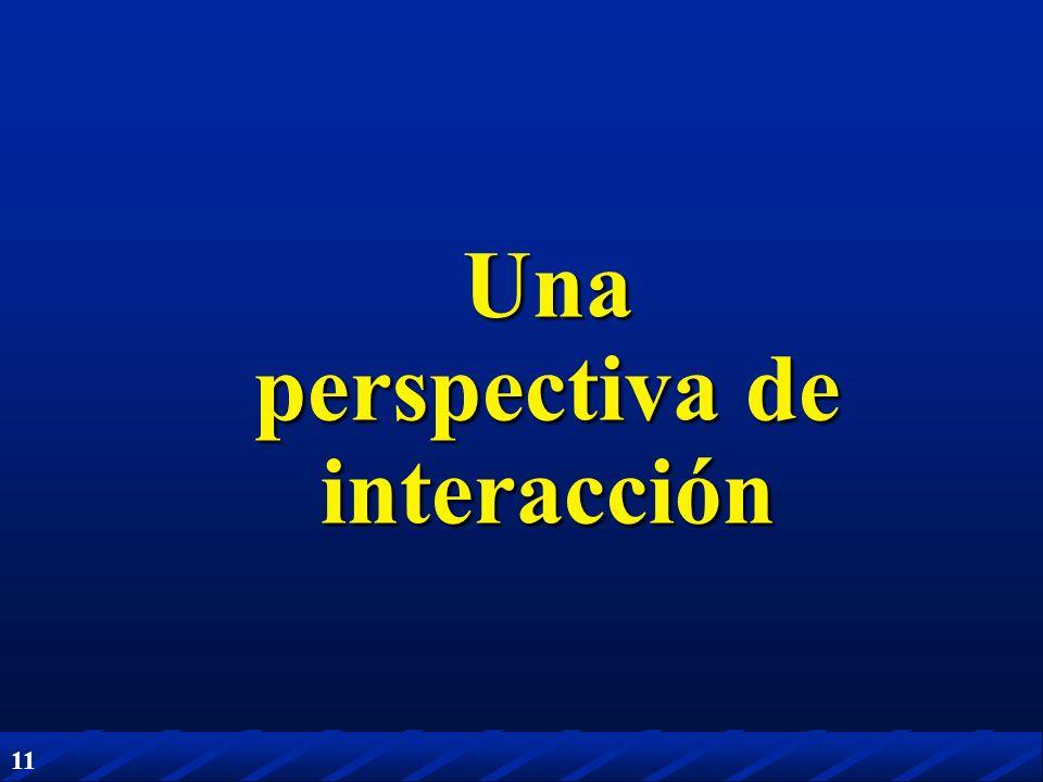 Una perspectiva de interacción