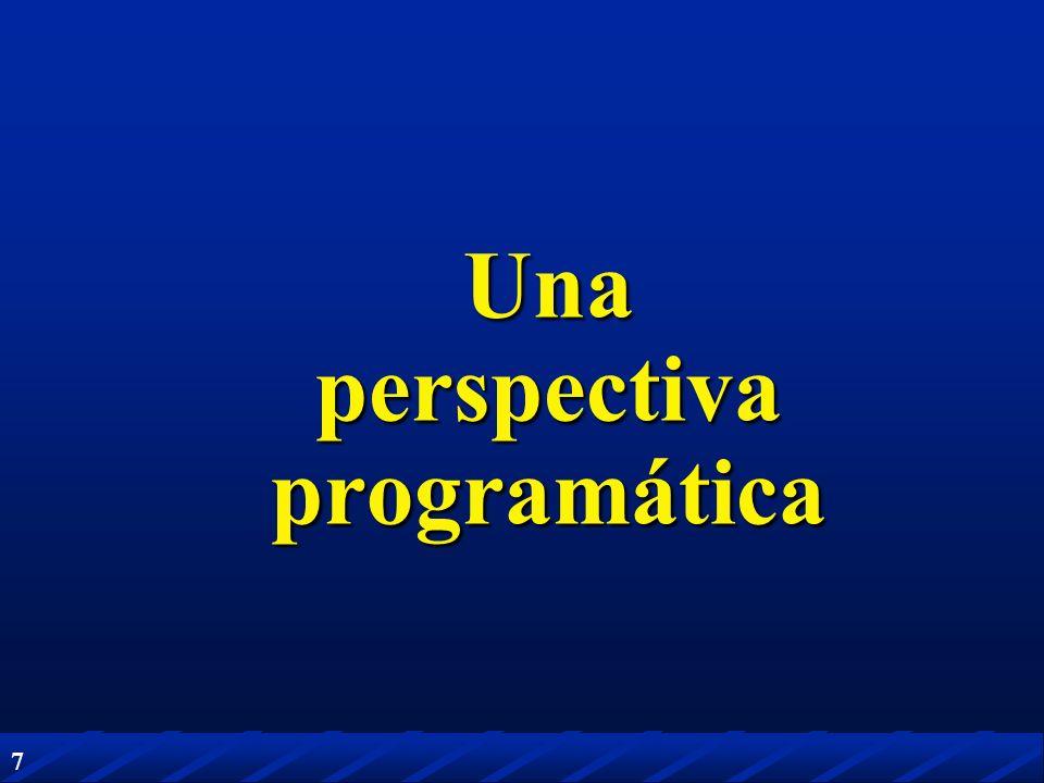 Una perspectiva programática
