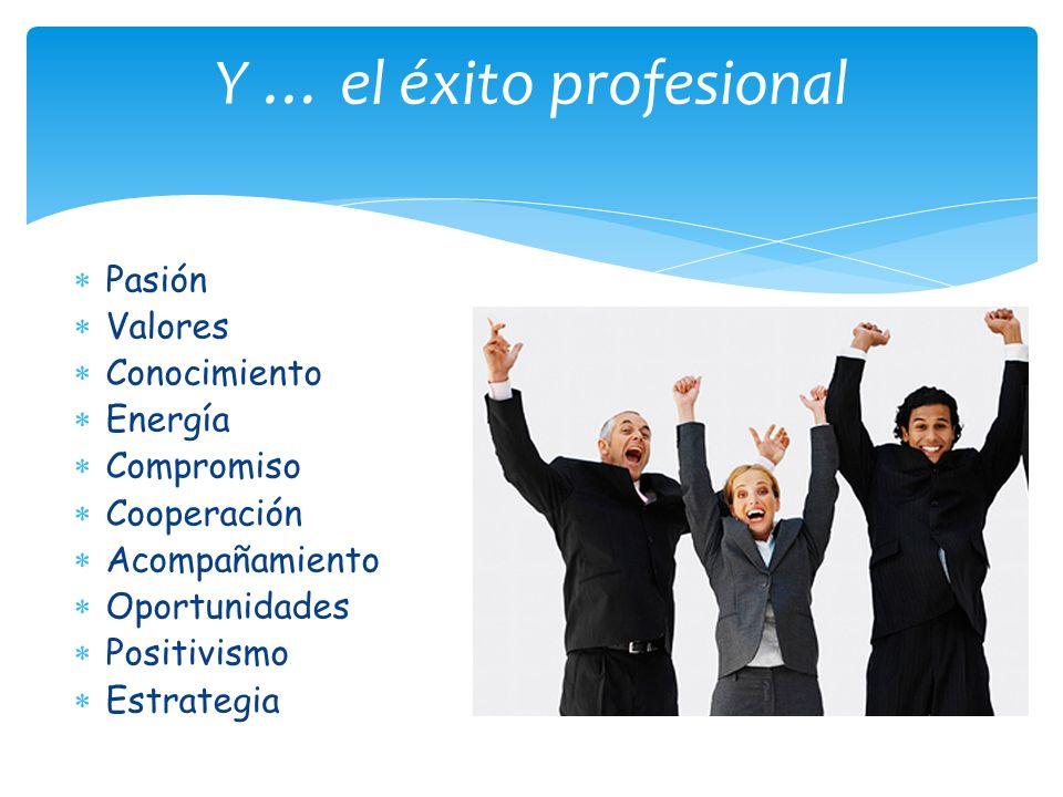 Y … el éxito profesional