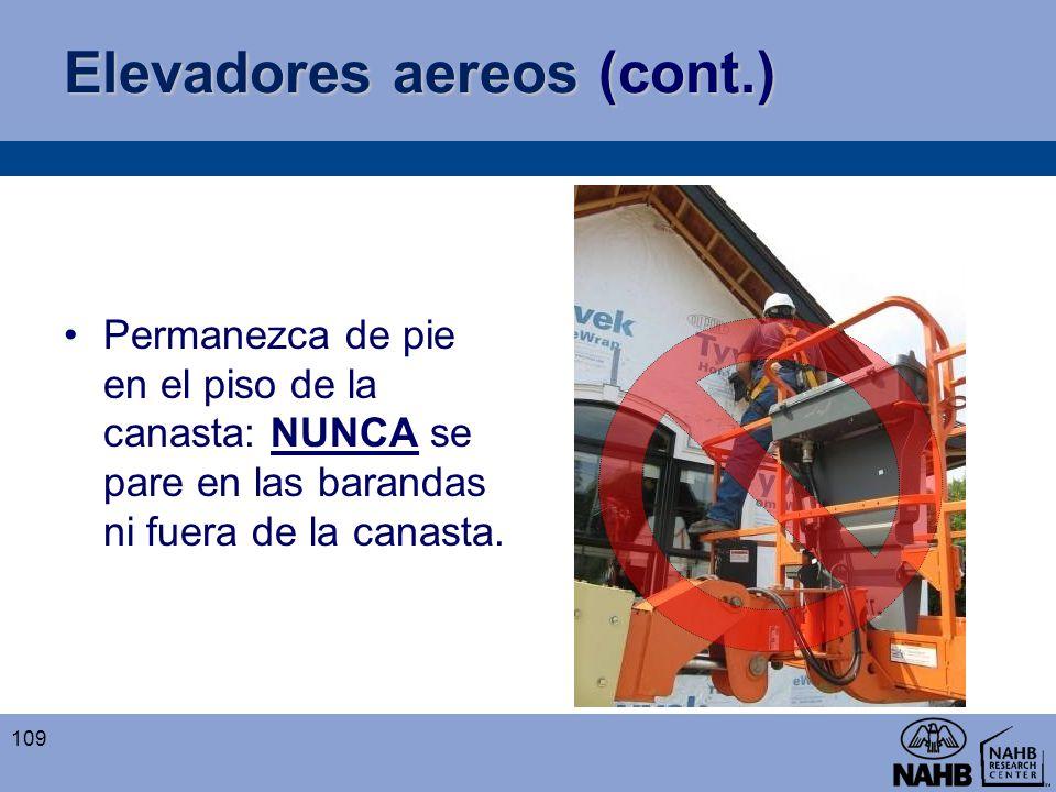 Elevadores aereos (cont.)