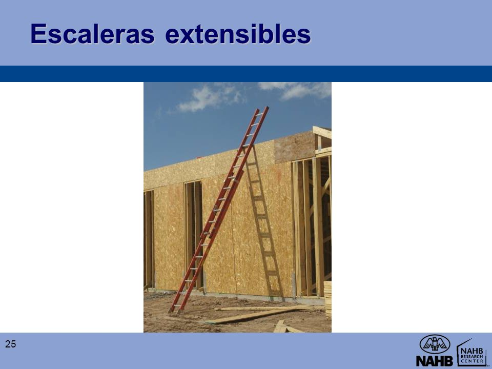 Escaleras extensibles
