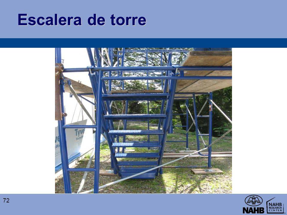 Escalera de torre