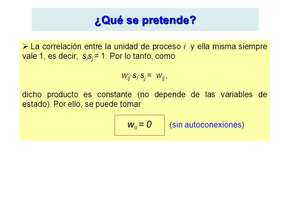 wii = 0 (sin autoconexiones)