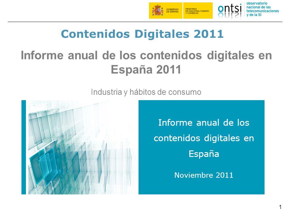 Informe anual de los contenidos digitales en España 2011