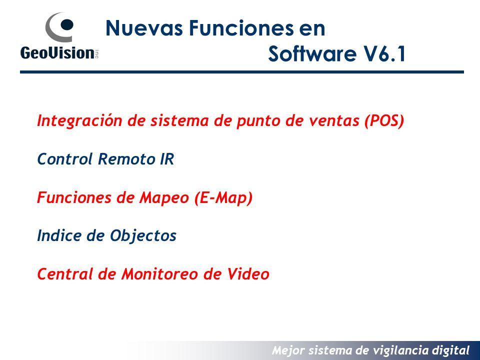 Nuevas Funciones en Software V6.1