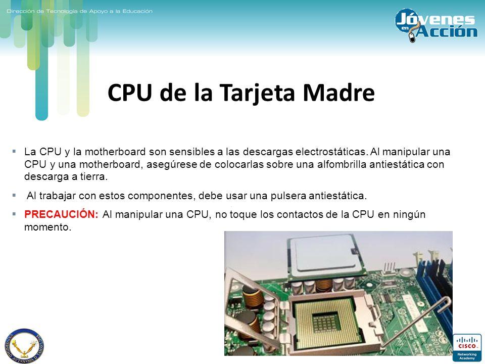 CPU de la Tarjeta Madre