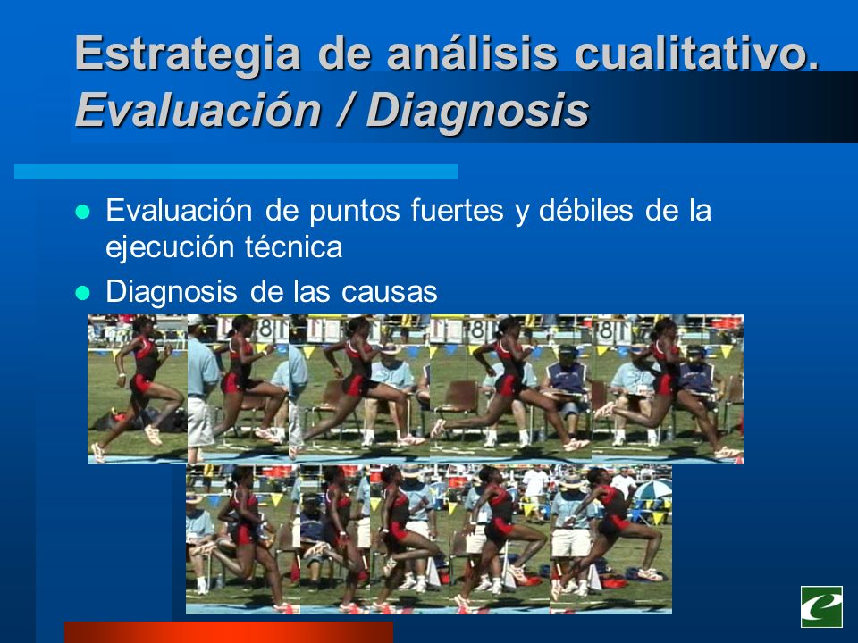 Estrategia de análisis cualitativo. Evaluación / Diagnosis
