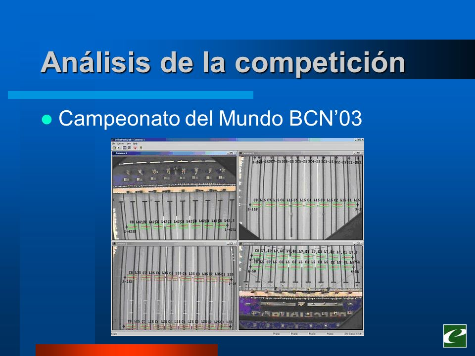 Análisis de la competición