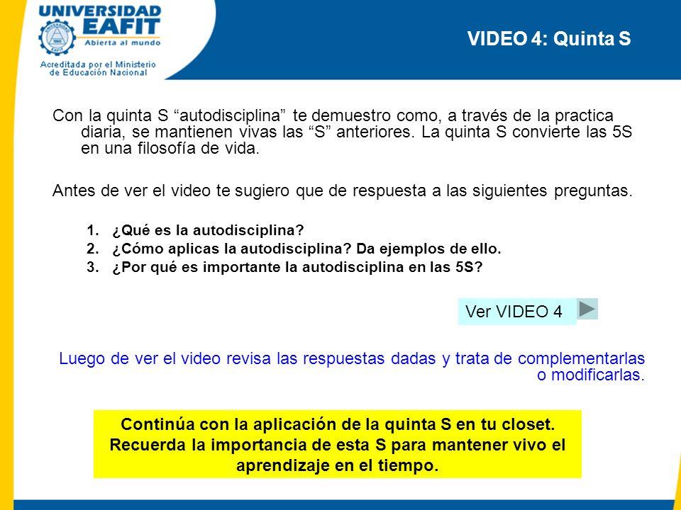 VIDEO 4: Quinta S