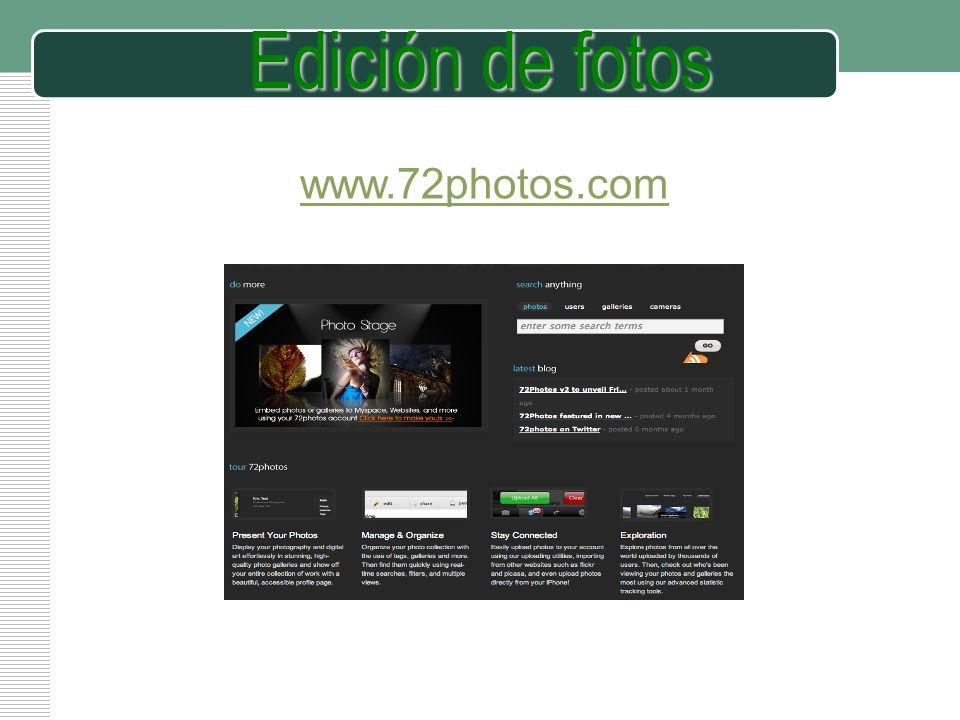 Edición de fotos www.72photos.com