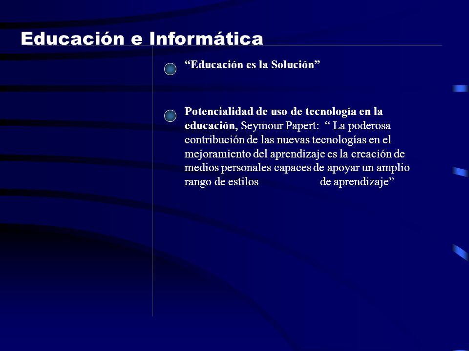 Educación e Informática