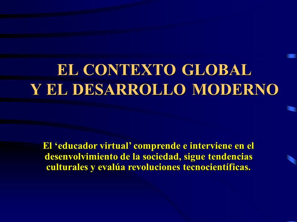 EL CONTEXTO GLOBAL Y EL DESARROLLO MODERNO