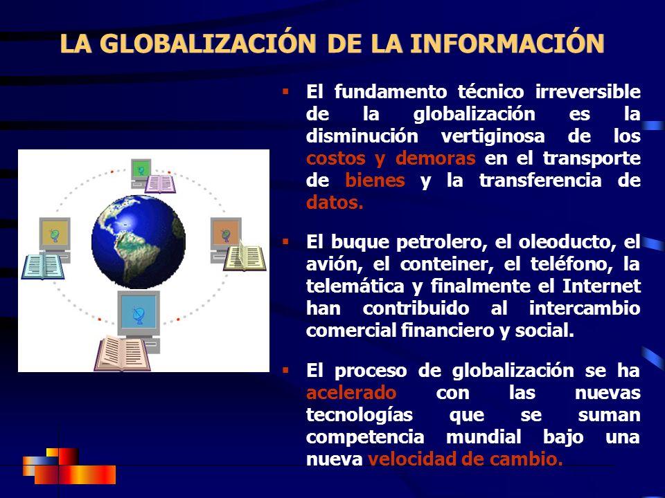 LA GLOBALIZACIÓN DE LA INFORMACIÓN
