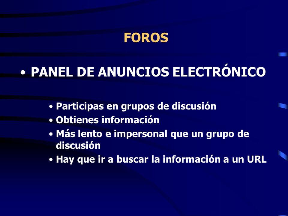 PANEL DE ANUNCIOS ELECTRÓNICO