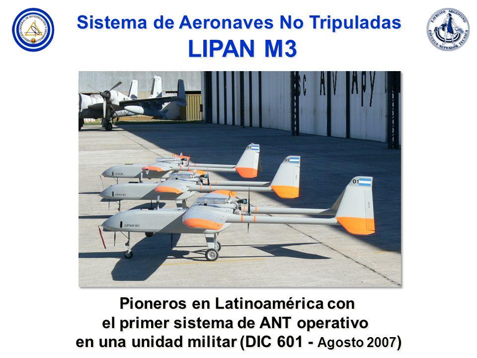 Sistema de Aeronaves No Tripuladas