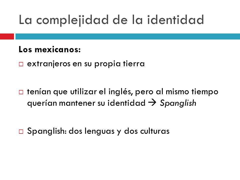 La complejidad de la identidad