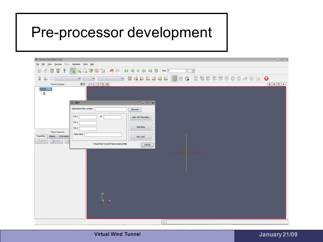 Pre-processor development