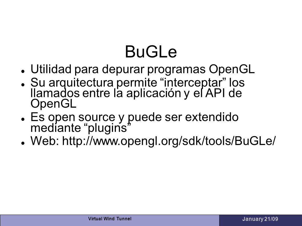 BuGLe Utilidad para depurar programas OpenGL