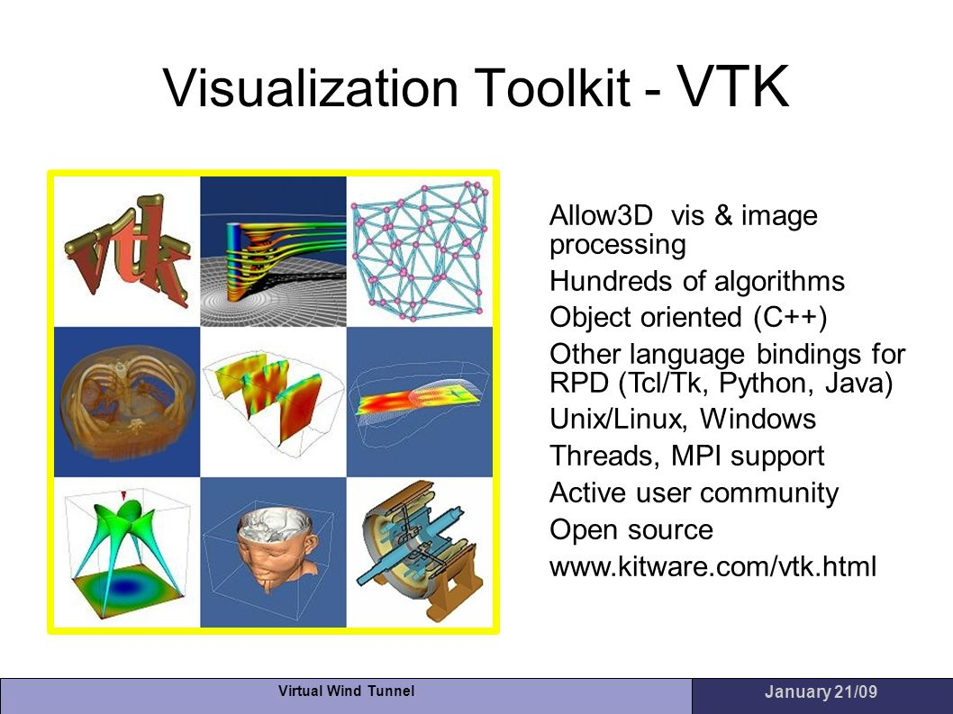 Visualization Toolkit - VTK