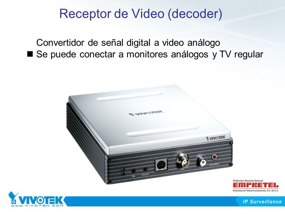Receptor de Video (decoder)