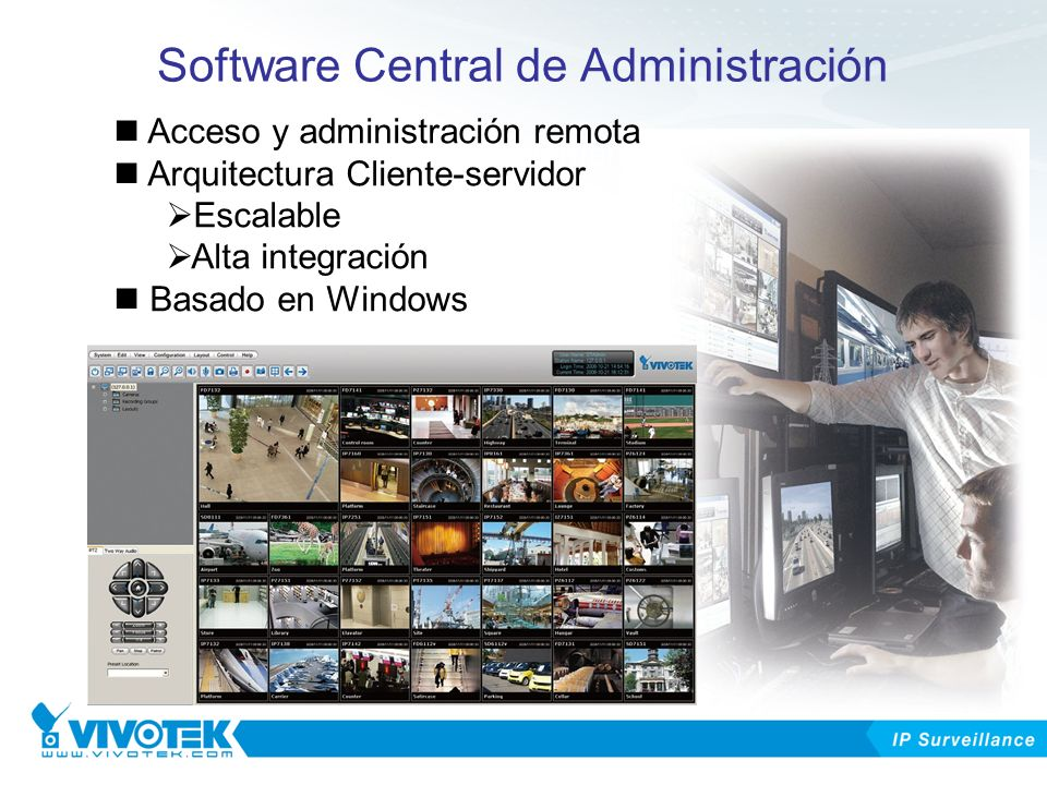 Software Central de Administración