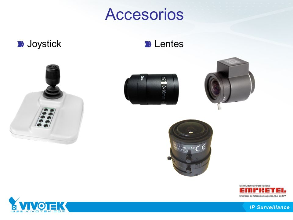 Accesorios Joystick Lentes