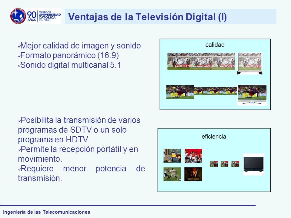 Ventajas de la Televisión Digital (I)
