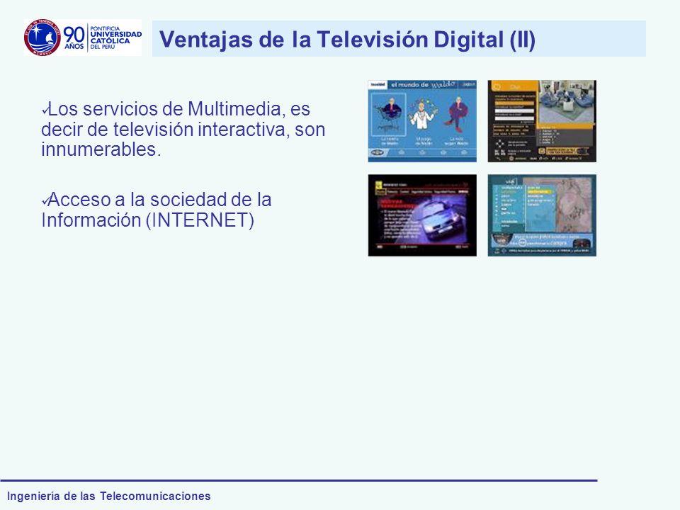 Ventajas de la Televisión Digital (II)