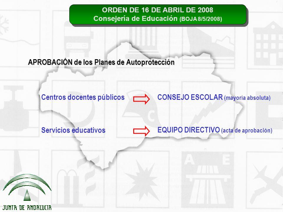 Consejería de Educación (BOJA 8/5/2008)