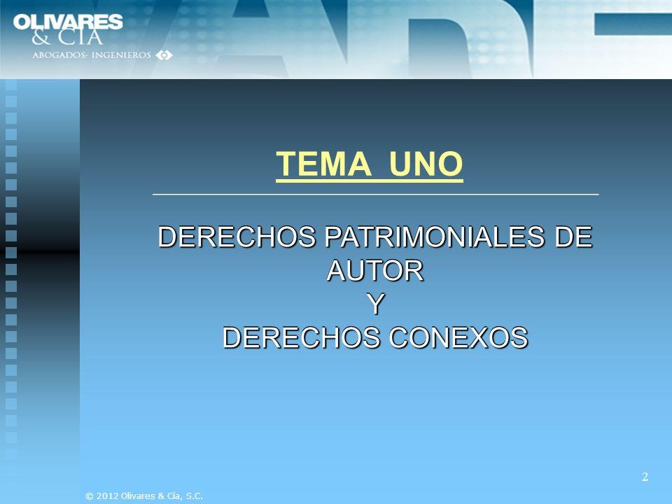 DERECHOS PATRIMONIALES DE AUTOR