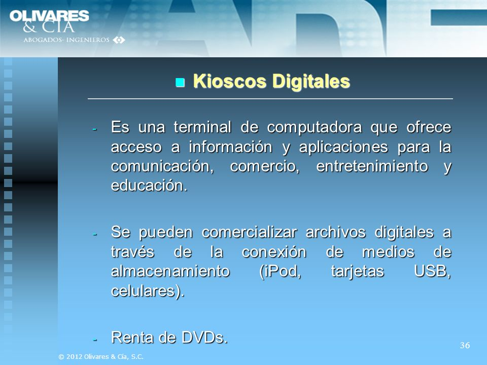 Kioscos Digitales