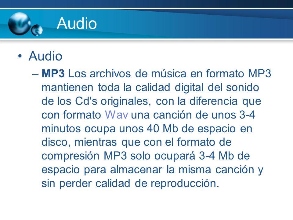 Audio Audio.