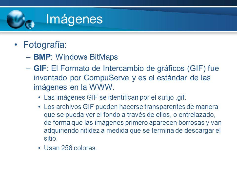Imágenes Fotografía: BMP: Windows BitMaps