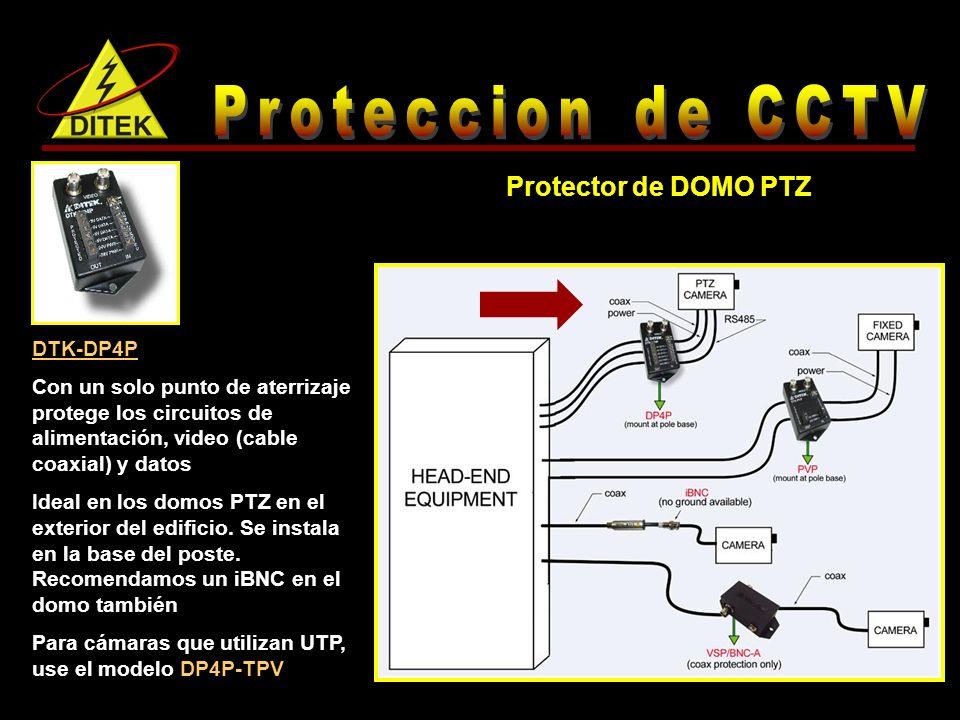 Proteccion de CCTV Protector de DOMO PTZ DTK-DP4P