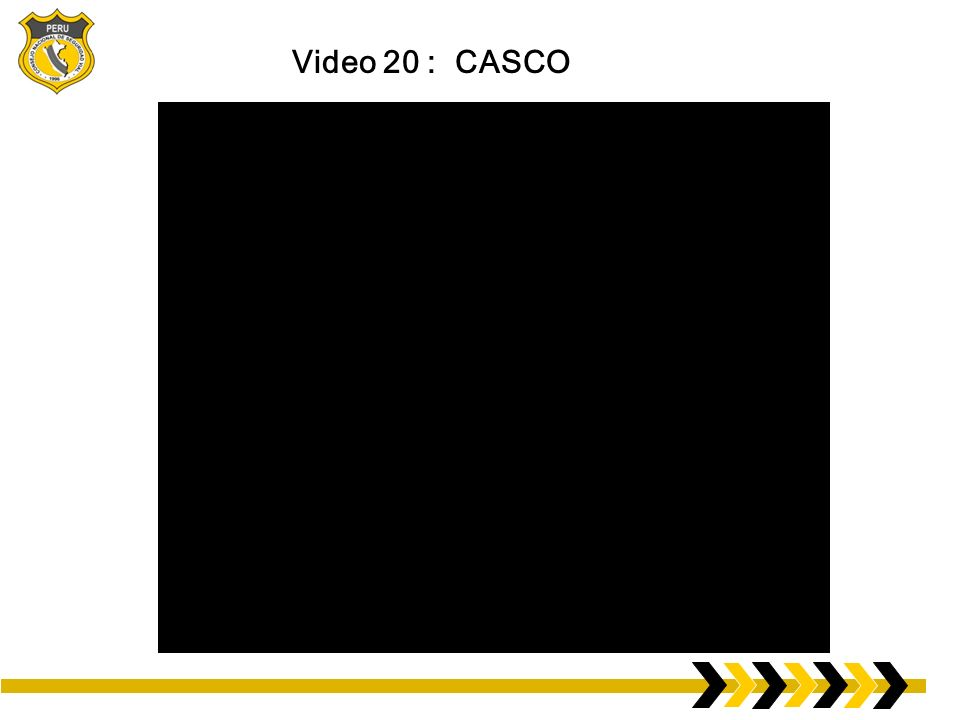 Video 20 : CASCO