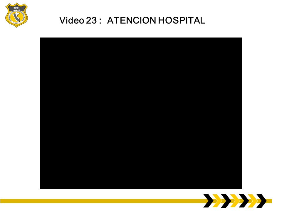 Video 23 : ATENCION HOSPITAL