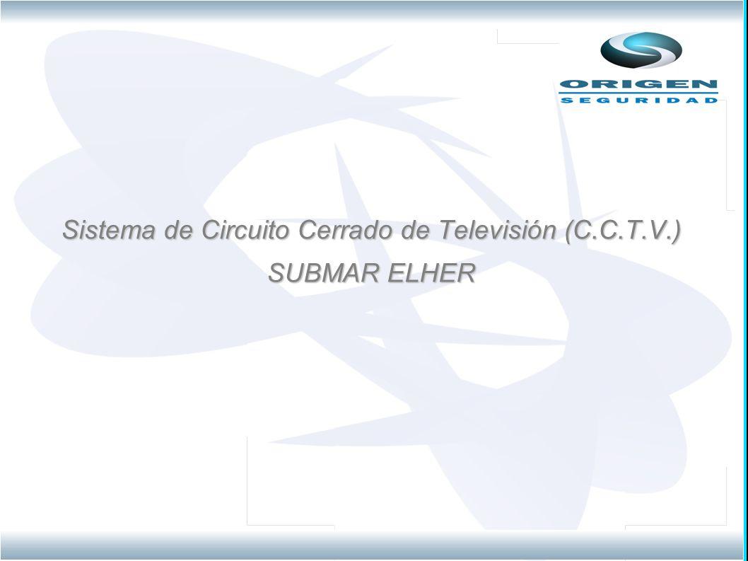 Sistema de Circuito Cerrado de Televisión (C.C.T.V.)