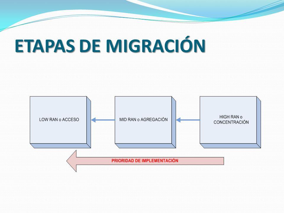 ETAPAS DE MIGRACIÓN