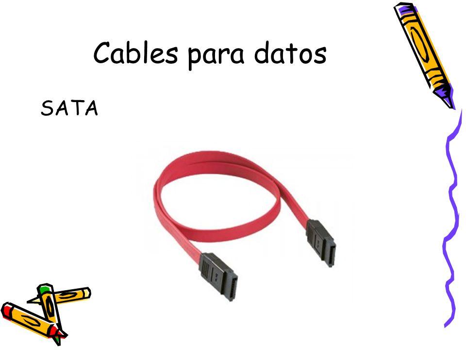 Cables para datos SATA