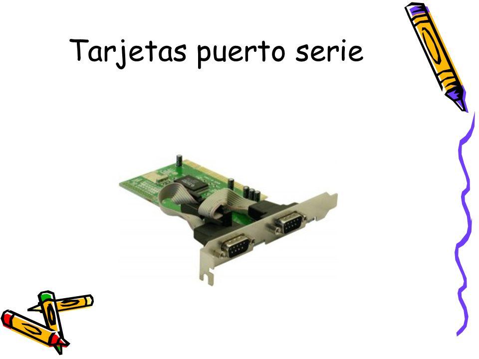 Tarjetas puerto serie