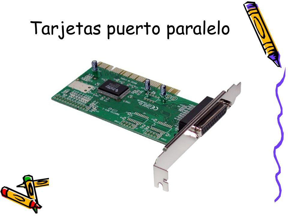 Tarjetas puerto paralelo