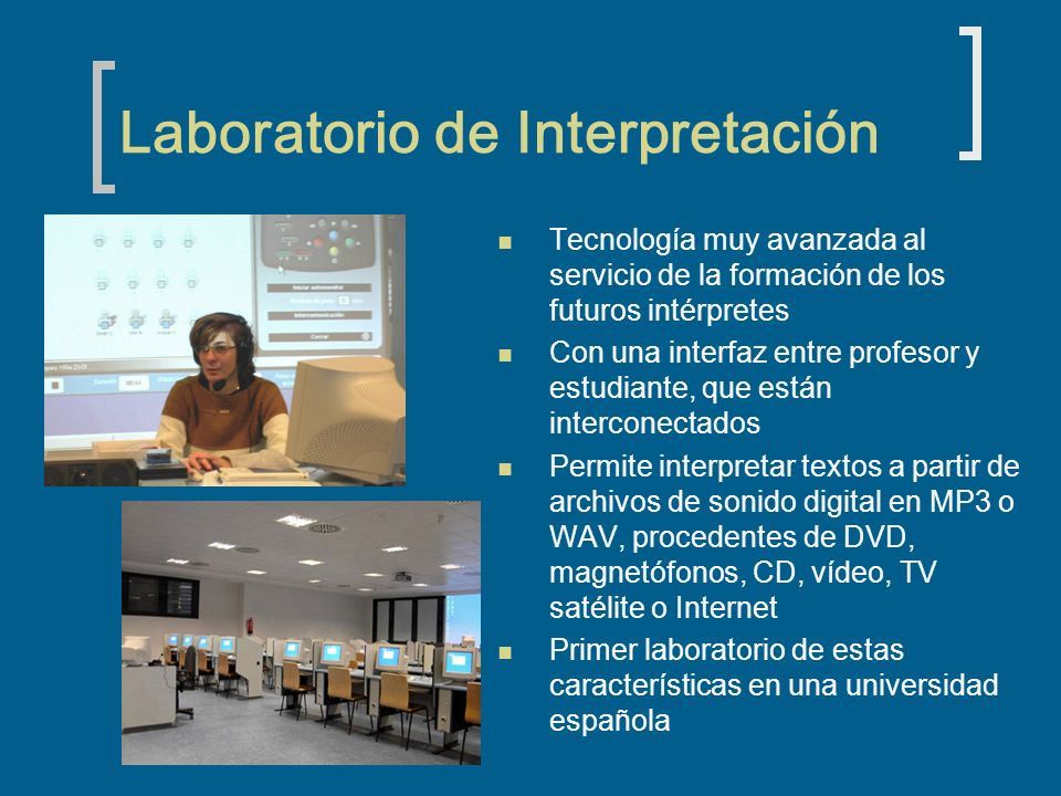 Laboratorio de Interpretación