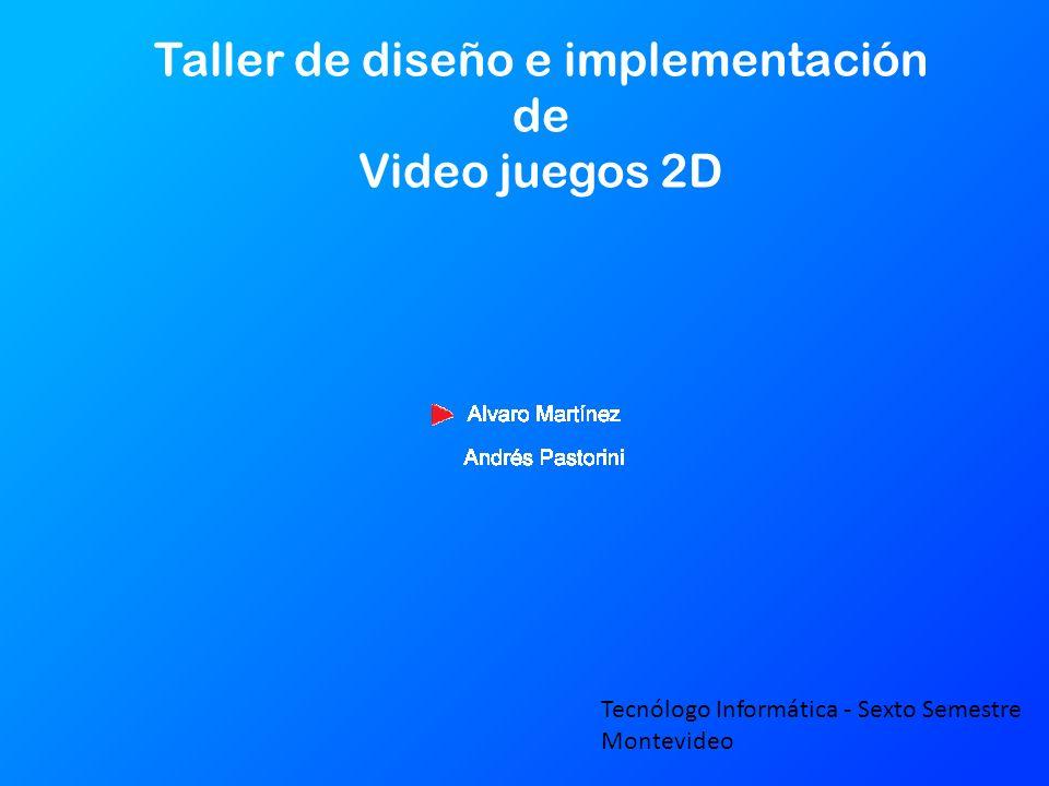Taller de diseño e implementación de