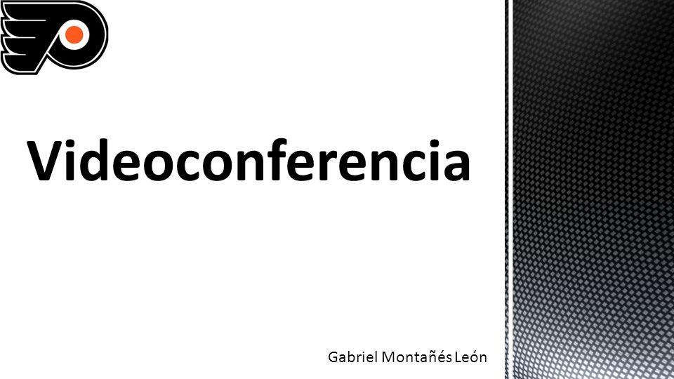 Videoconferencia Gabriel Montañés León