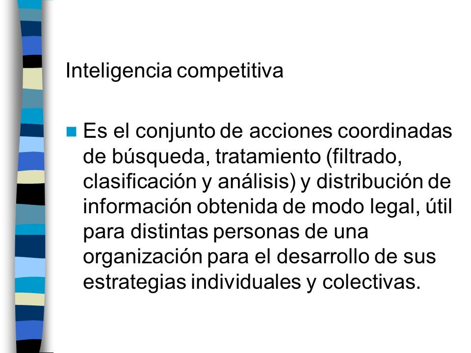 Inteligencia competitiva