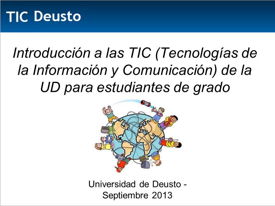 Universidad de Deusto - Septiembre 2013