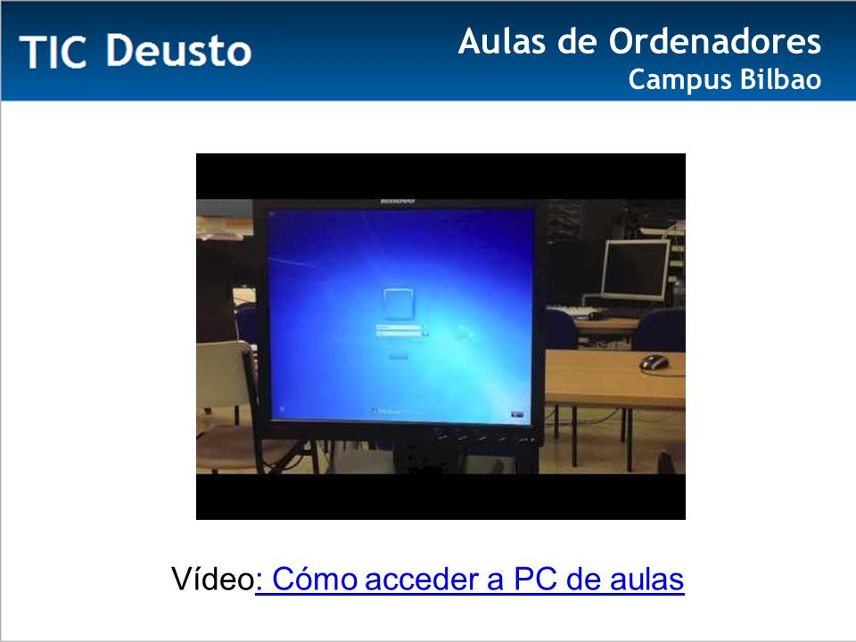 Aulas de Ordenadores Campus Bilbao